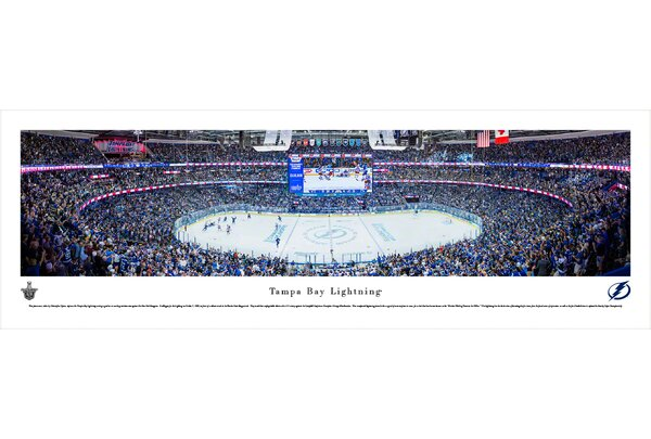 NHL Tampa Bay Lightning by Christopher Gjevre Photographic Print by Blakeway Worldwide Panoramas, Inc