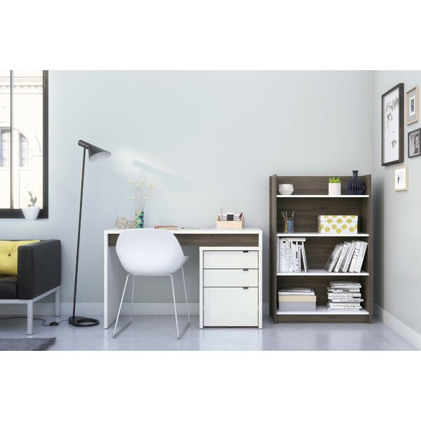 Alayna 3 Piece Desk Office Suite by Latitude Run