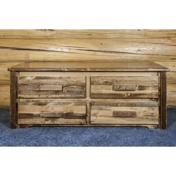 Abella 4 Drawers Double dresser by Loon Peak