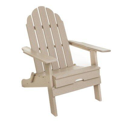 Plastic Folding Adirondack Chair by String Light Company