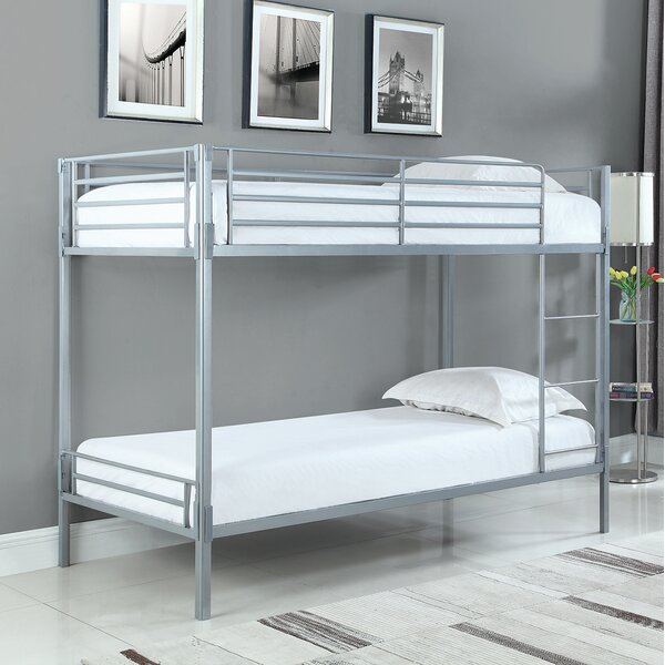 Fuselier Twin over Twin Bunk Bed by Zoomie Kids