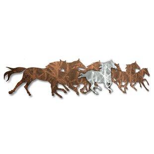Metal Horse Wall Decor | Wayfair