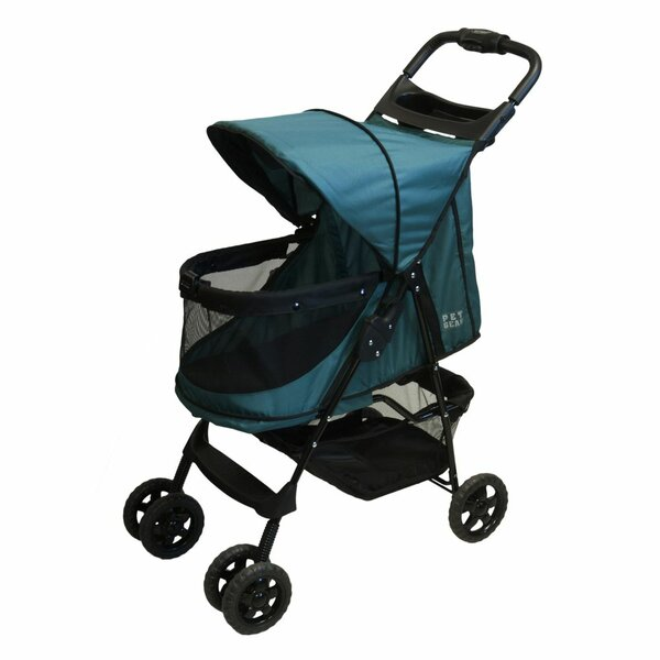 No Zip Happy Trails Standard Pet Stroller by Pet Gear