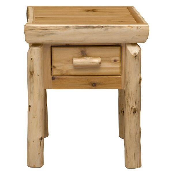 Cedar 1 Drawer Nightstand by Fireside Lodge Fireside Lodge