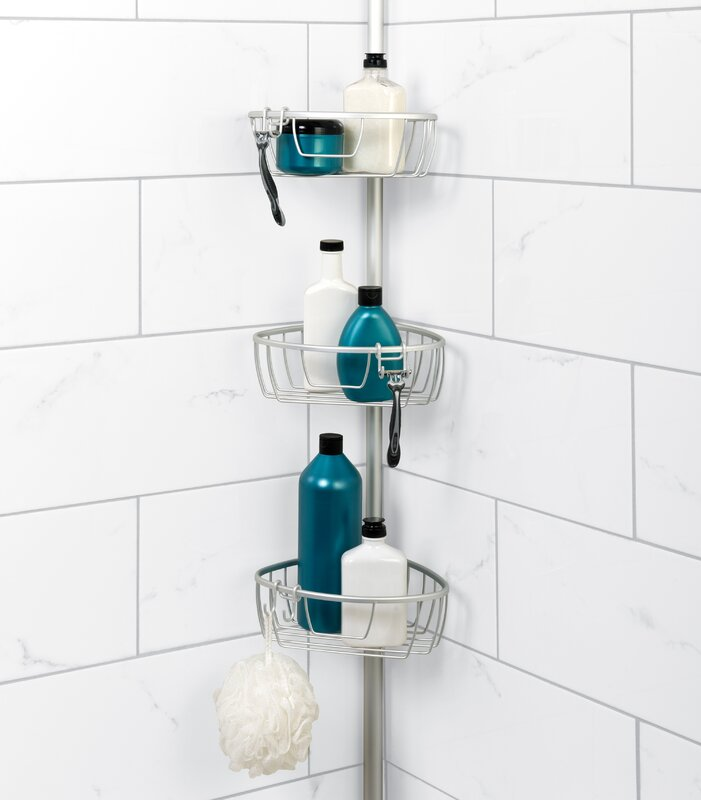 Versalot No-Rust Shower Caddy & Reviews | Wayfair
