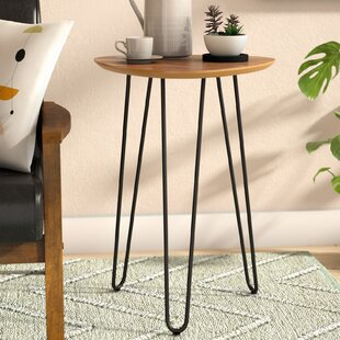 Compare Goldner Hairpin Leg Wood End Table By Wrought Studio