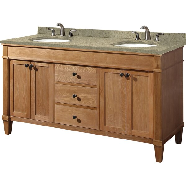 Cambridge 61 Double Bathroom Vanity Set by Empire Industries