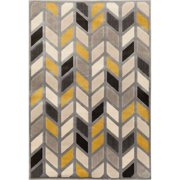 Suffolk Silver Area Rug by Threadbind