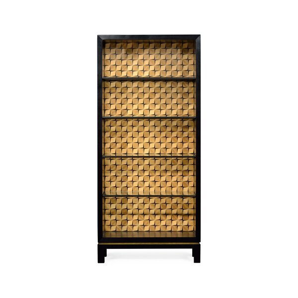 Op Art Standard Bookcase By Jonathan Charles Fine Furniture