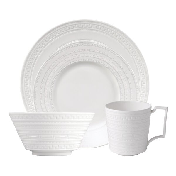 Intaglio Bone China 4 Piece Place Setting, Service for 1 by Wedgwood