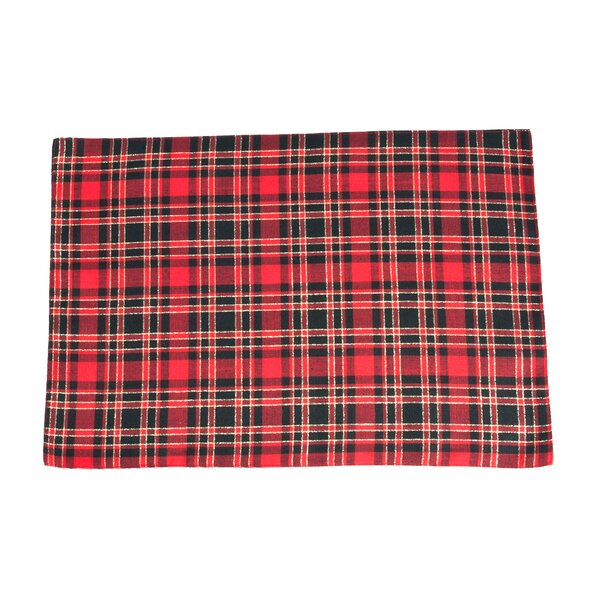 Highland Holiday Plaid Design 19 Placemat (Set of 4) by The Holiday Aisle