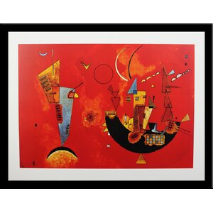 Museum Masters 'Mit Und Gegen, 1929' by Wassily Kandinsky Framed Painting Print by Buy Art For Less