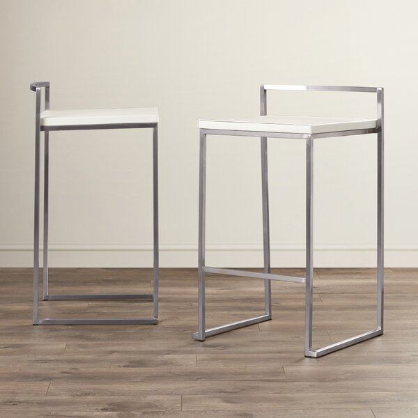 Atkins 25.5 Bar Stool (Set of 2) by Wade Logan