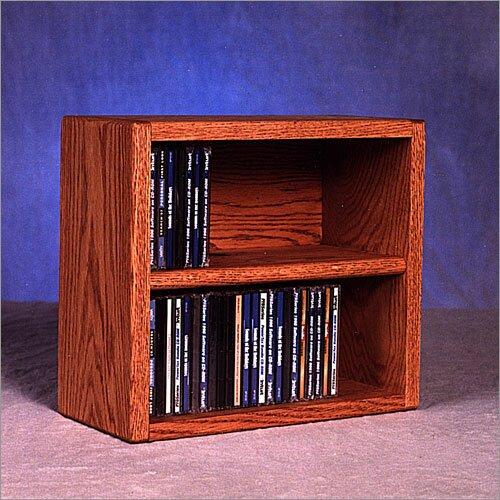 52 CD Multimedia Tabletop Storage Rack By Rebrilliant