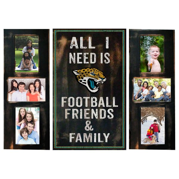 3 Piece NFL All I Need Picture Frame Set by Fan Creations