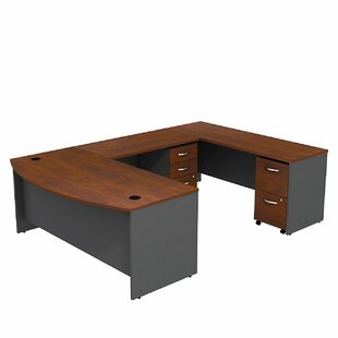 Best Reviews Series C Bow Front U-Shape Executive Desk By Bush Business Furniture