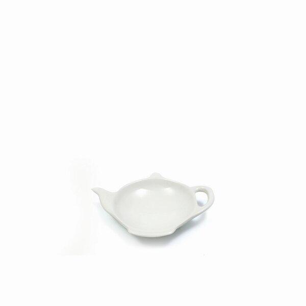 White Basics Tea Bag Tidy (Set of 6) by Maxwell & Williams