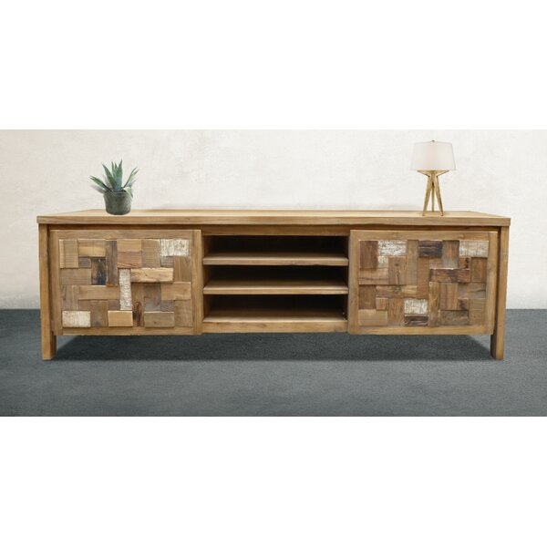 Andresen Solid Wood TV Stand For TVs Up To 70