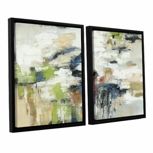 Highline View 2 Piece Framed Painting Print on Canvas Set by Ivy Bronx