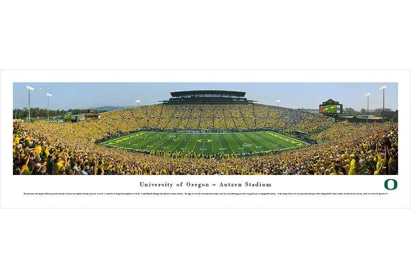 NCAA Oregon, University of - 50 Yard Day by James Blakeway Photographic Print by Blakeway Worldwide Panoramas, Inc