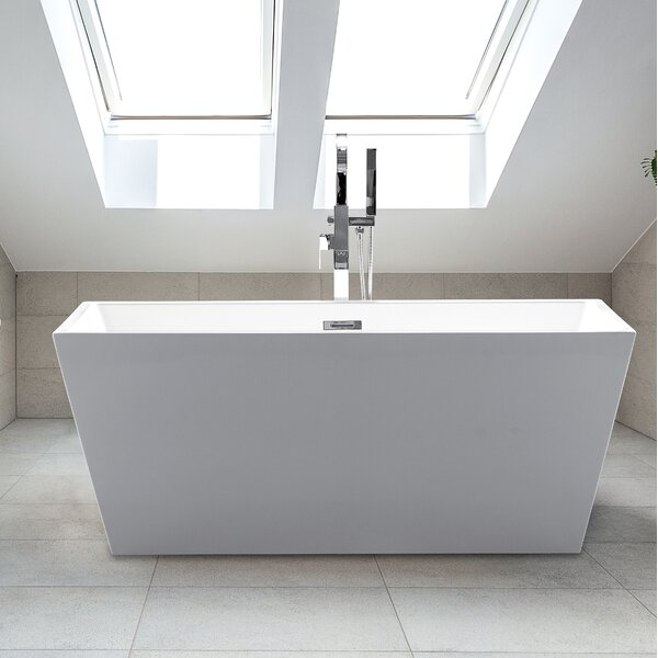 24 x 63 Sophia Freestanding Soaking Bathtub by CastelloUSA