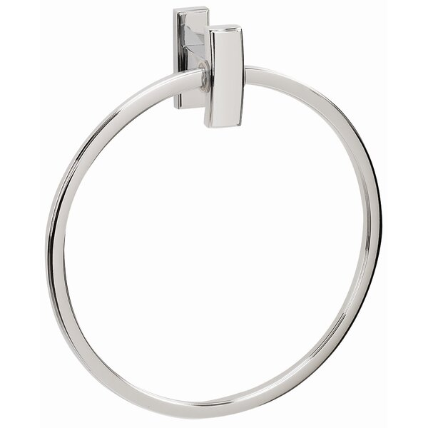 Arch Wall Mounted Towel Ring by Alno Inc
