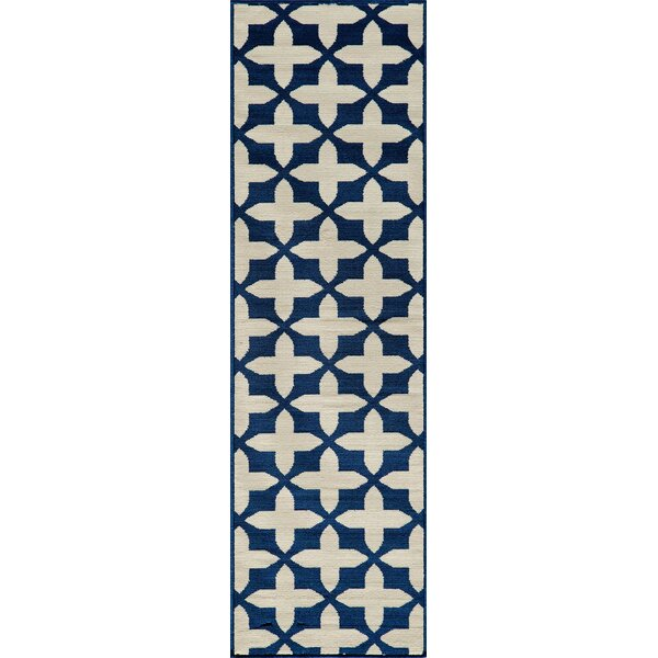 Craine Navy Indoor/Outdoor Area Rug by Charlton Home