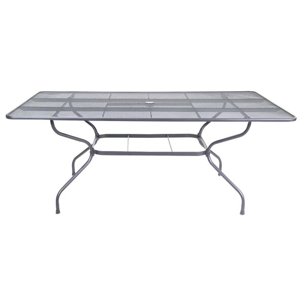 Eugena Metal Dining Table by Red Barrel Studio