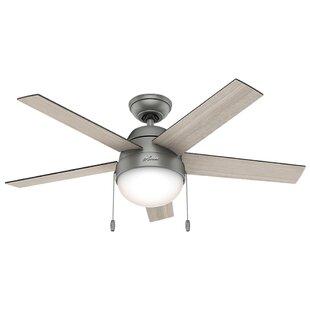Hunter fan wayfair 46 anslee 5 blade ceiling fan by hunter fan audiocablefo