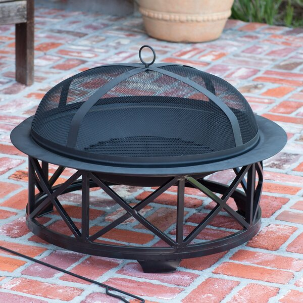 Portsmouth Steel Wood Burning Fire Pit by Fire Sense