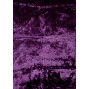 Dark Purple Round Rug Wayfair