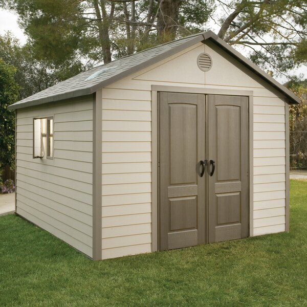 11 ft W x 13 ft. 5 in D Plastic Storage Shed by Lifetime