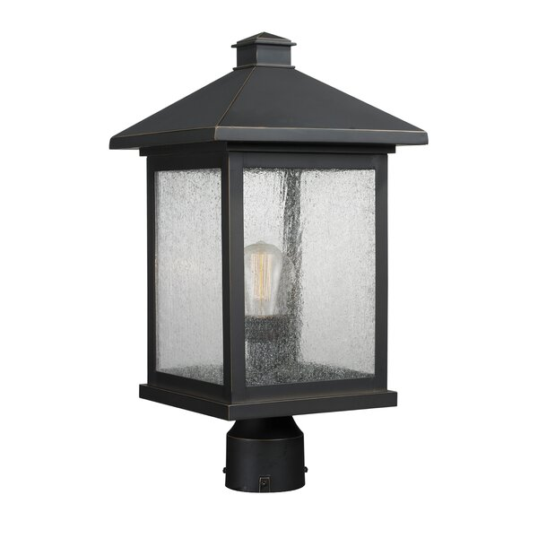 Leroy 1-Light Glass Shade Lantern Head by 17 Stories