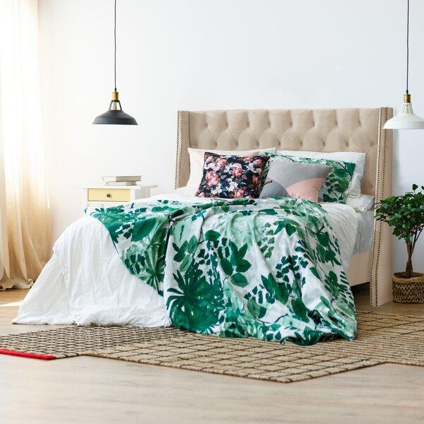 Beesley Upholstered Standard Bed by Rosdorf Park