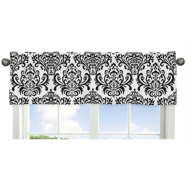 Sloane Damask Curtain Valance by Sweet Jojo Designs