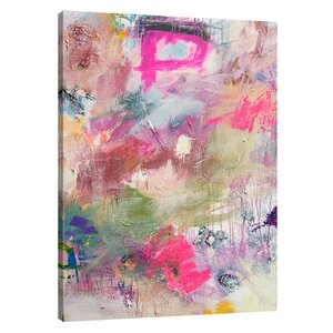 'Field of Colorful' by Kent Youngstrom Painting Print on Wrapped Canvas by Jaxson Rea