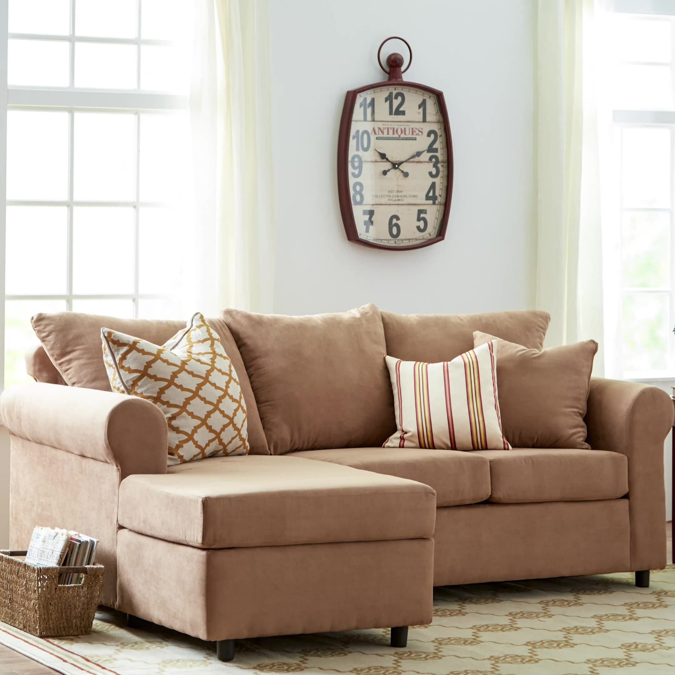 Andover Mills Dewitt Sectional & Reviews