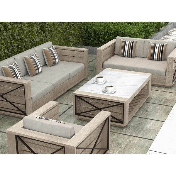 Isabella Sectional with Cushions by Gracie Oaks