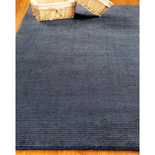 Wool Petra Navy Area Rug by Natural Area Rugs