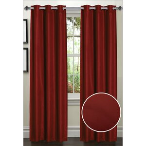 Dot Thermal Blackout Curtain Panels (Set of 2)