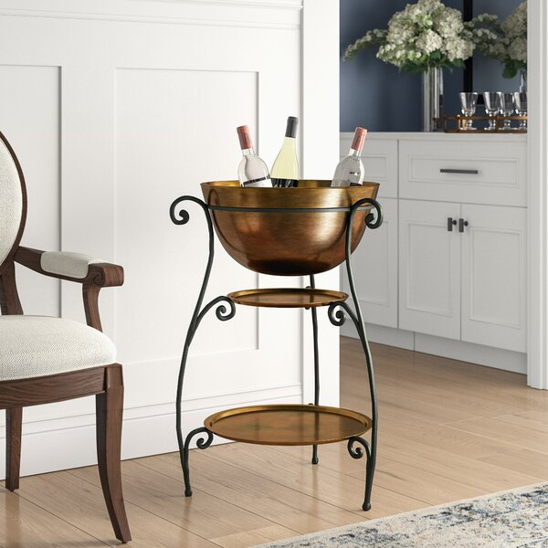 Glouster Beverage Stand by Darby Home Co
