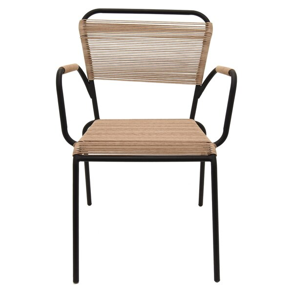 Briarwood Metal and Plastic Armchair by Bay Isle Home