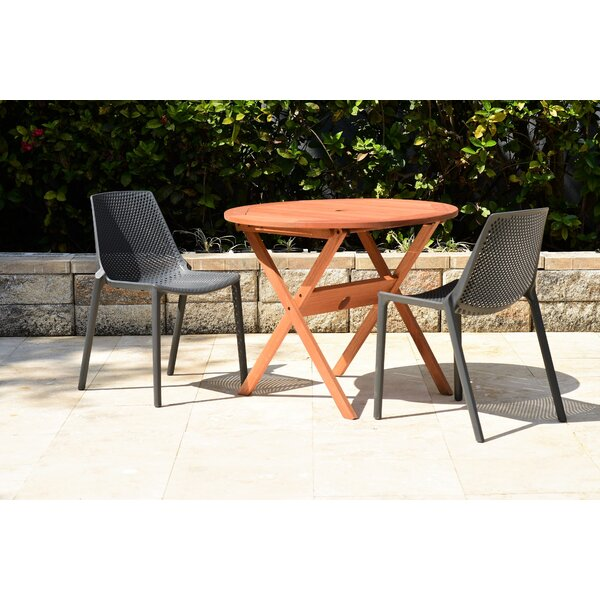 Claudio 3 Piece Dinning Set by Mercury Row