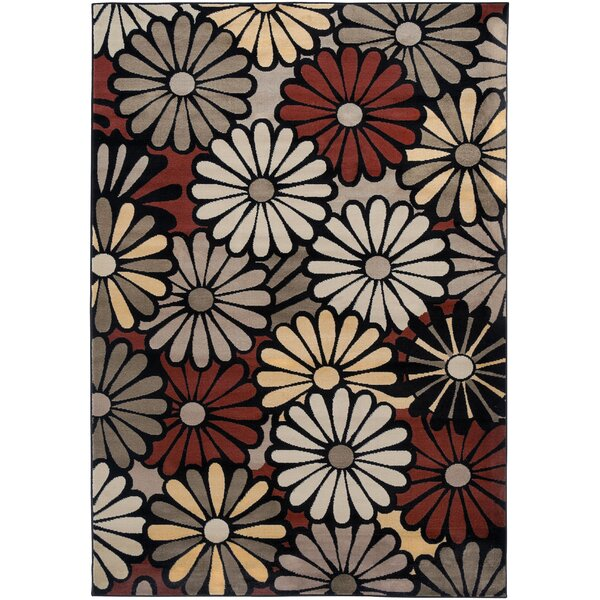 Culver Black Area Rug by Threadbind