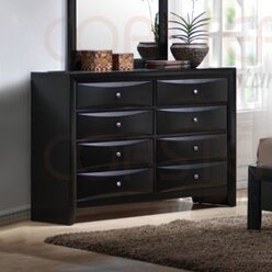 Borkovany 8 Drawer Double Dresser by Latitude Run