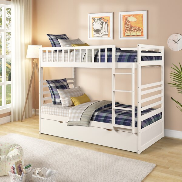 Raimunda Twin over Twin Bunk Bed with Trundle by Latitude Run