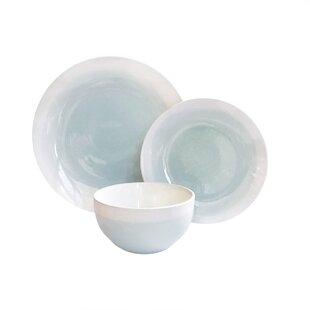 Harkless 12 Piece Dinnerware Set Service for 4  sc 1 st  Birch Lane & Coastal Dinnerware Sets u0026 Place Settings | Birch Lane