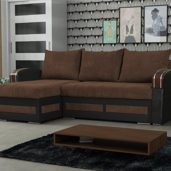 #1 Vitela Reversible Sleeper Sectional By Latitude Run Today Sale Only