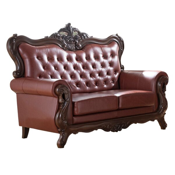 Burnley 65.75'' Rolled Arm Loveseat By Astoria Grand
