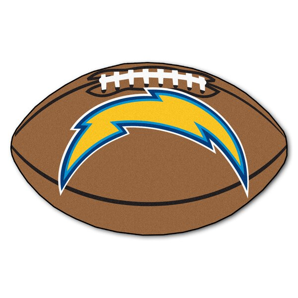 NFL - San Diego Chargers Football Mat by FANMATS